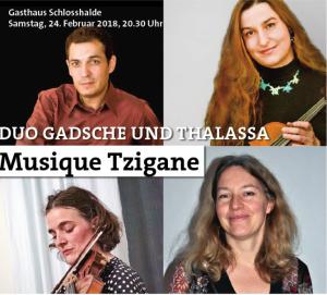 Duo Gadsche und Thalassa: Musique Tzigane