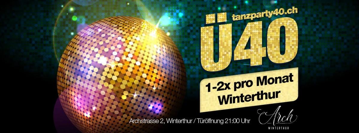 Ü40 Tanzparty im Saal mit DJ Joe Harris