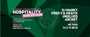 Hospitality, DJ Marky, Fred V & Grafix, Unglued