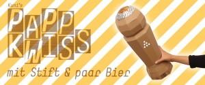 Pappkwiss - mit Stift und paar Bier, «10um10» mit Martina Hügi