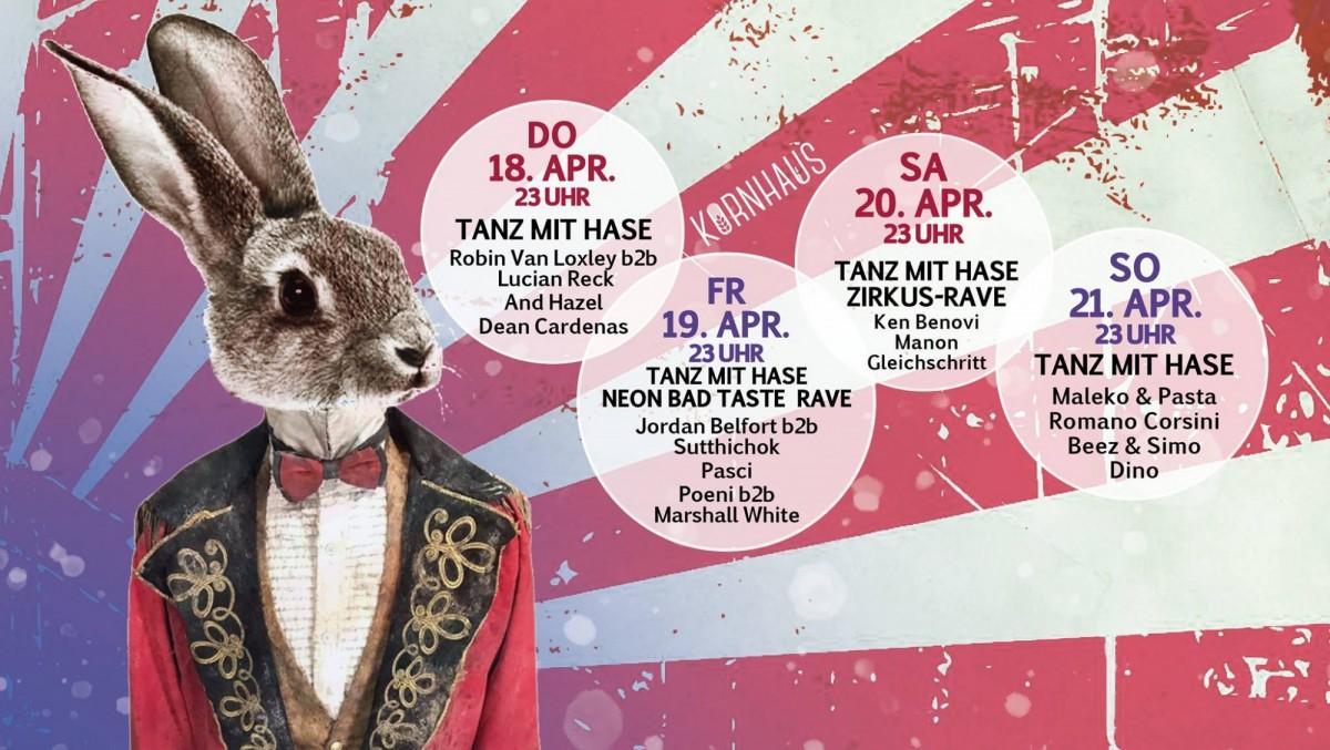Tanz Mit Hase Zirkus-Rave