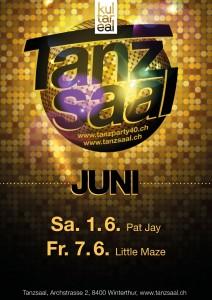 Ü40 Tanzparty im Tanzsaal mit DJ Pat Jay