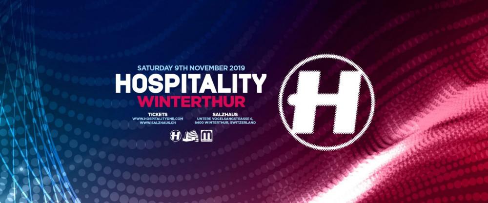 Hospitality, Metrik (UK), Hugh Hardie (UK), Urbandawn (UK)
