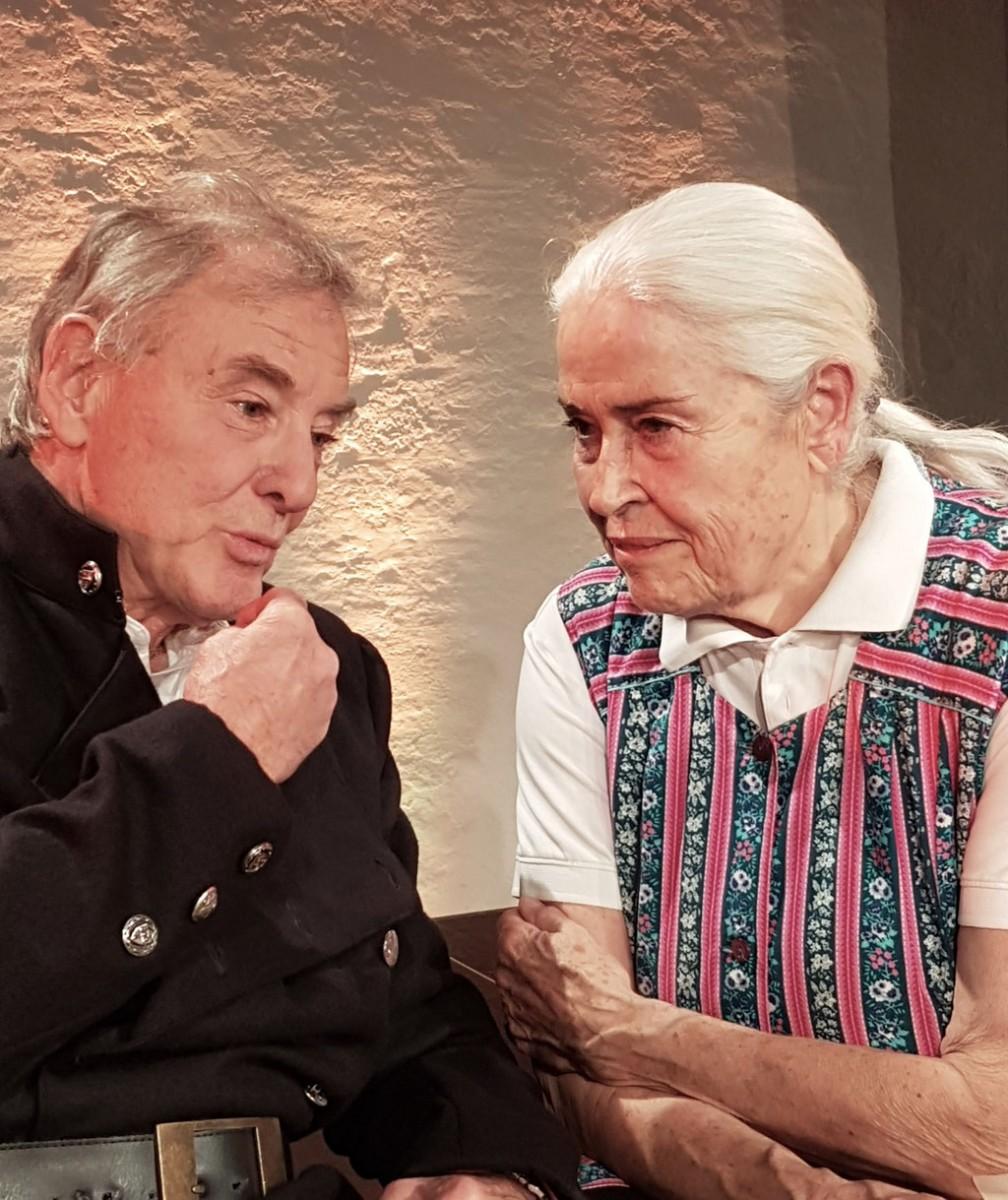 Josef und Maria nach Peter Turrini mit Vera Schweiger und Carlo Ghirardelli, Regie Jordi Vilardaga