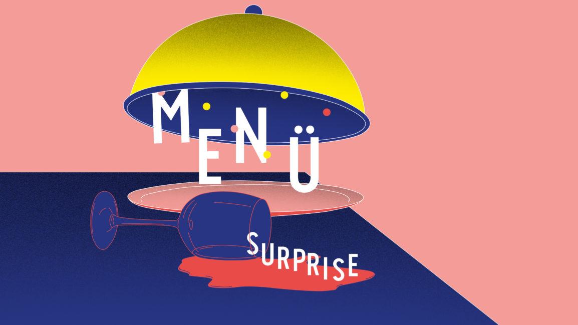 Menü Surprise – Gabriel Vetter